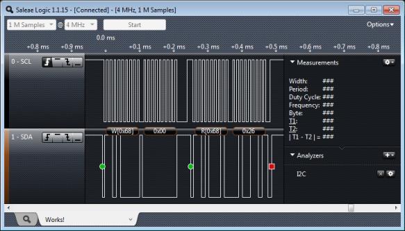 Working I2C Bus Communication