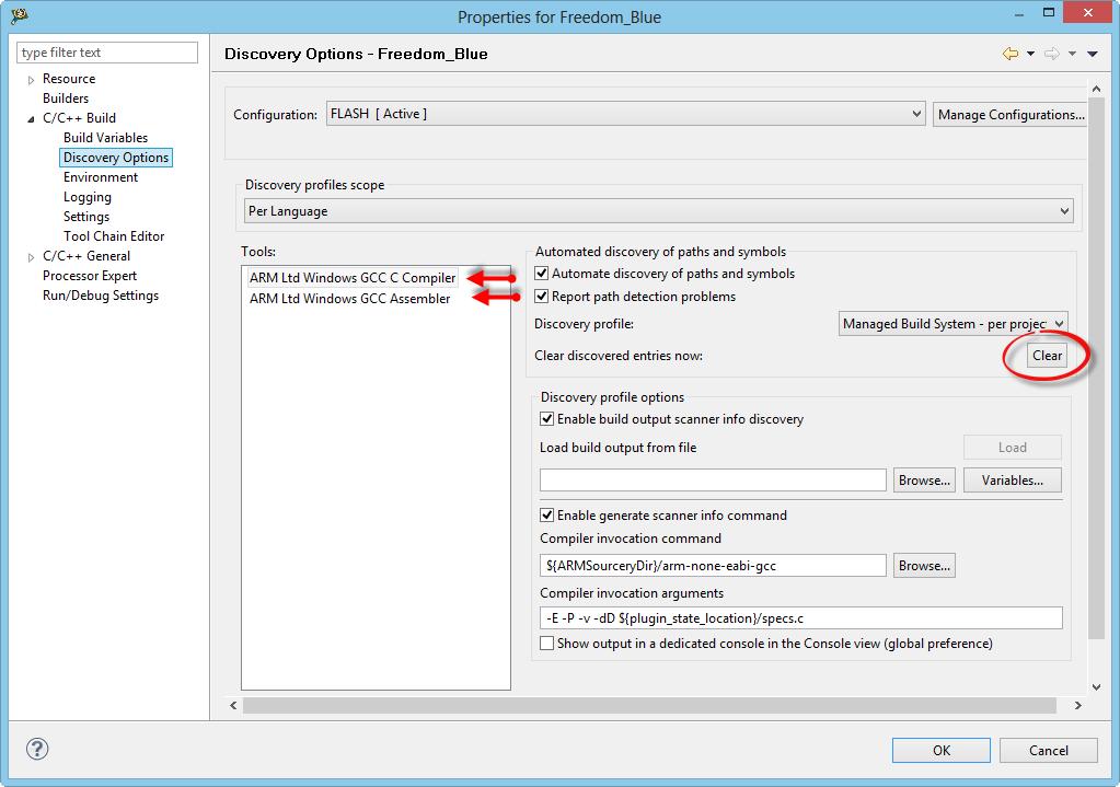 Switching ARM GNU gcc Toolchain in Eclipse   MCU on Eclipse