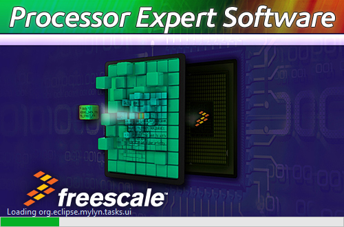 Processor Expert Startup Splash Screen