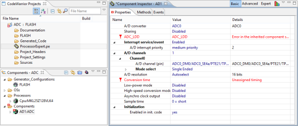Added ADC Component