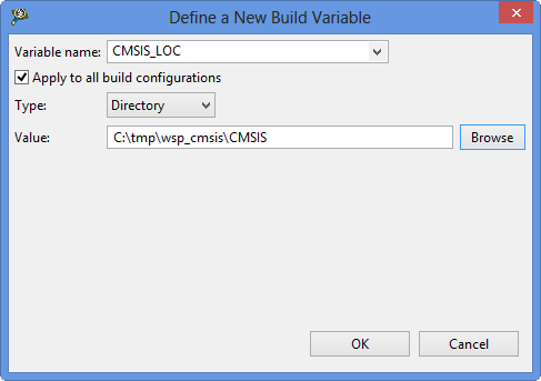 CMSIS_LOC Variable