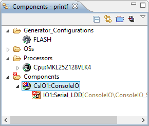 ConsoleIO in Project with Errors