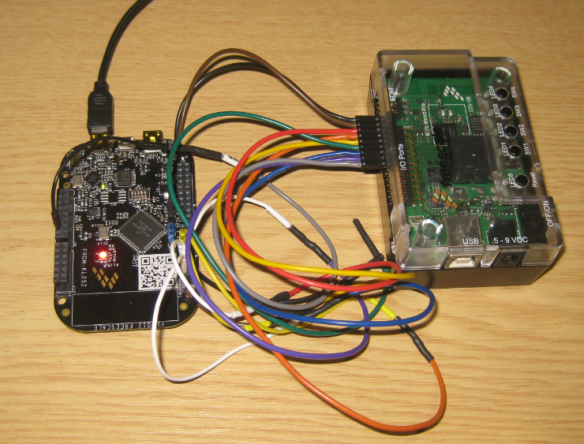 Freedom KL25Z used as Logic Analyzer on an S08 Board