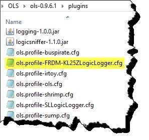 KL25Z profile file inside plugins folder of client