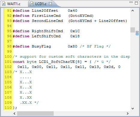 Line Numbers in Eclipse Editor View