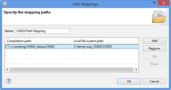 Specified Path Mapping