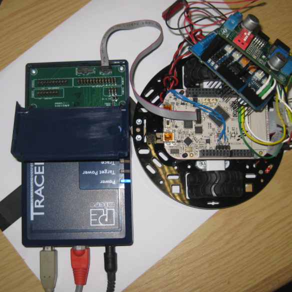 ARM Cortex-M0+ 10pin debug cable