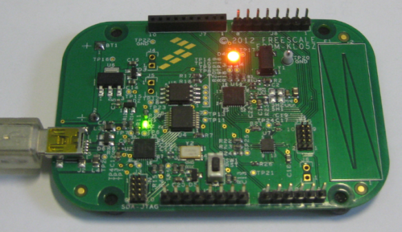 FRDM-KL25Z Board with FreeRTOS