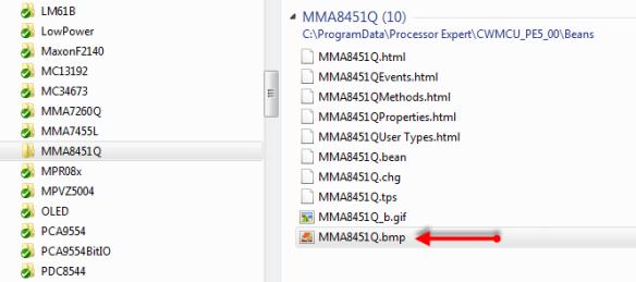 MMA8451Q Component Icon