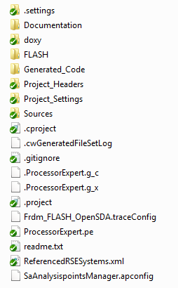 Project under Version Control