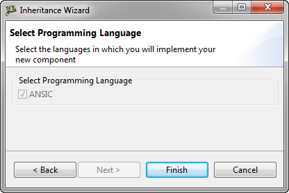 Select programming language