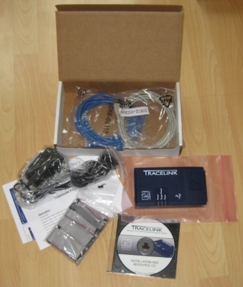 TraceLink Box Content