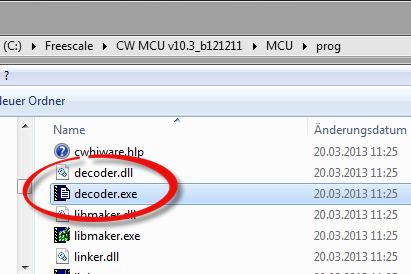 Decoder.exe inside MCU prog Folder