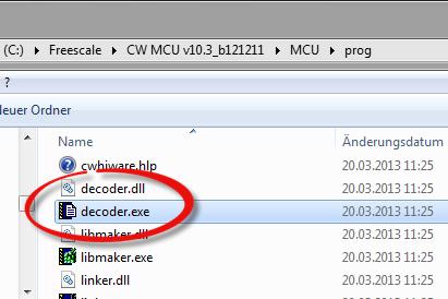 Decoder.exe inside MCU prog Folder