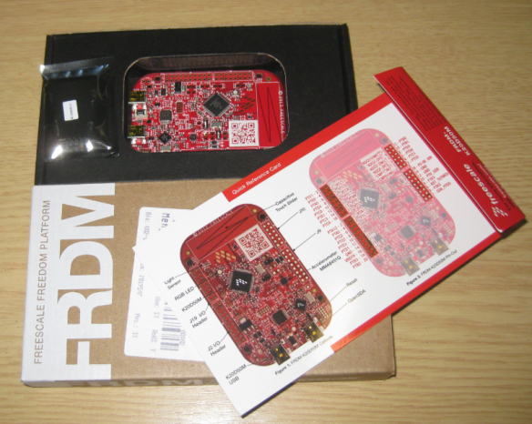 FRDM-K20D50M Box and Content