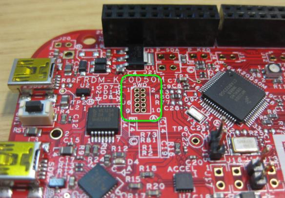 FRDM-K20D50M SWD Connector