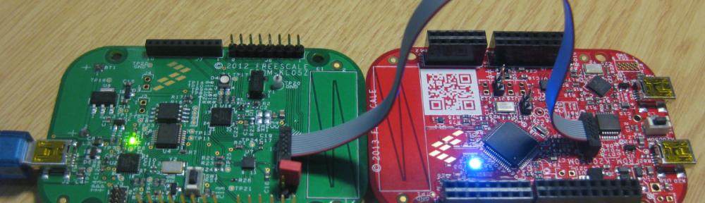 FRDM-KL05Z debugs FRDM-