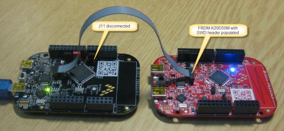FRDM-KL25Z debugging FRDM-K20D50M