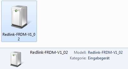 Redlink Debug Device in Windows