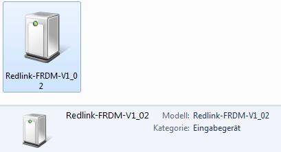 Redlink Debug Device in Windows