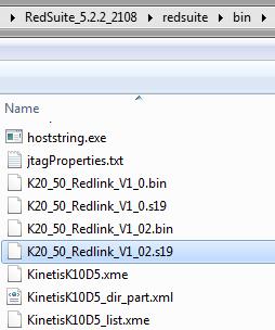 Redlink Firmware File