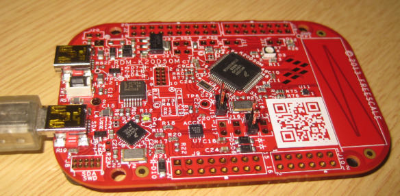 The new FRDM-K20D50M Board
