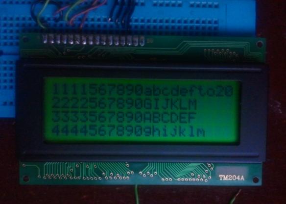 4x20 LCD Tianma TM204ABCWVBYA (Source: David Karibe)