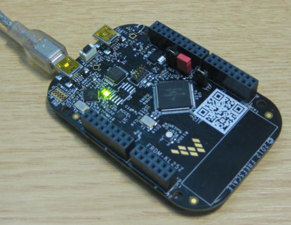 FRDM-KL25Z with Segger OpenSDA Debug Firmware
