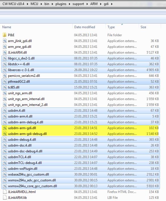 GDI DLL Files from MCU10.3