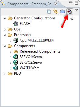 Generating Processor Expert Code