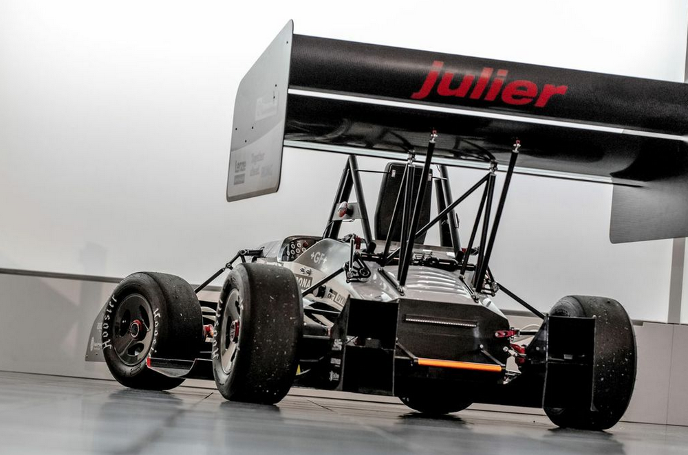 Rollout Of Julier Formula Student Race Car Mcu On Eclipse