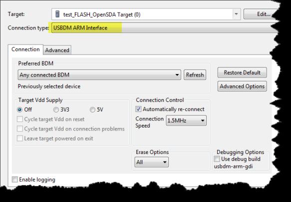 USBDM ARM Interface