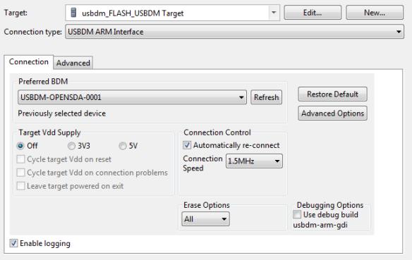 USBDM Target