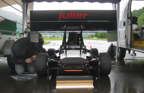 Back Side View of julier