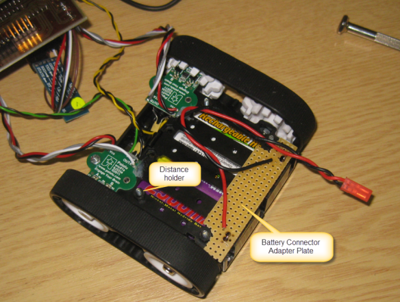 Battery Holder Adapter