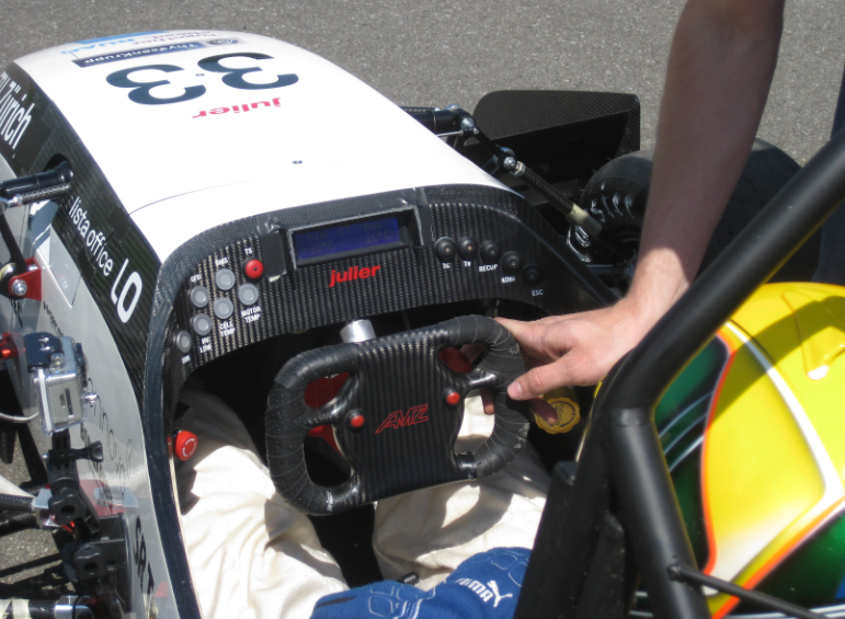Used Car Batteries >> Julier Formula Student Electrical Race Car as Television ...