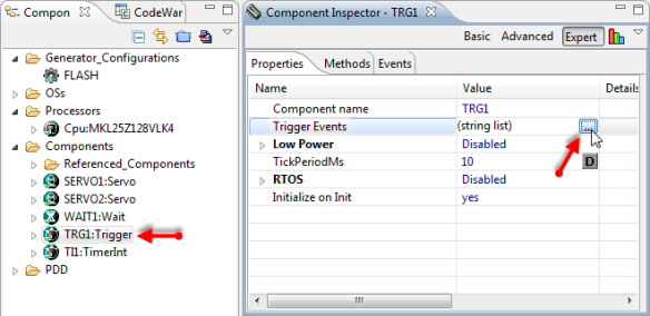 Configuring Trigger Event ID List