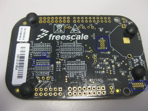 FRDM-KL25Z RevE Board Backside