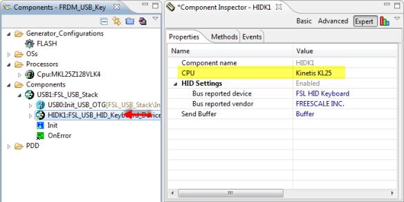 FSL_USB_HID_Keyboard CPU Configured
