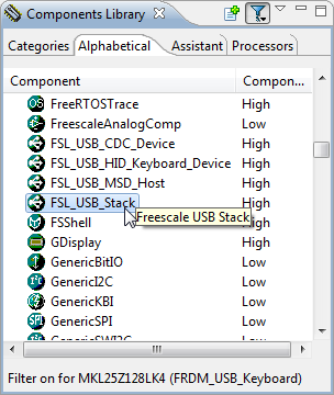 FSL_USB_Stack Component