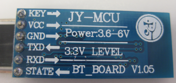 JY-MCU BT_BOARD V1.05 Bottom Side