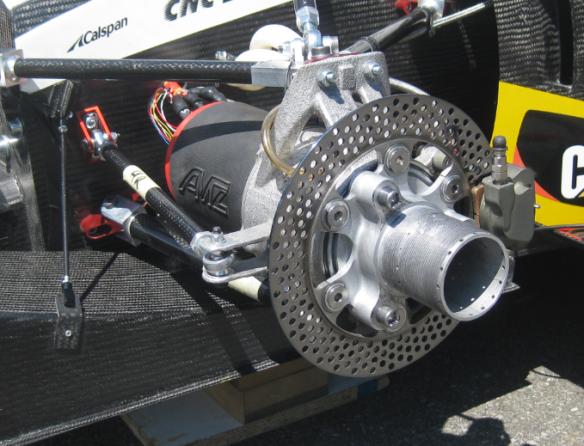 Mechanical Brake Detail