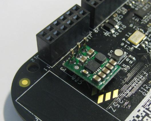 Module Soldered on FRDM-KL25Z