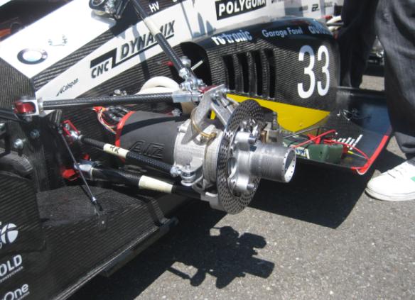 Motor with Mechanical Brake