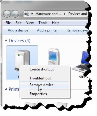 Unbinding Bluetooth Device