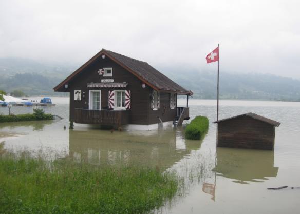 Under Water (Lauerz, Switzerland)