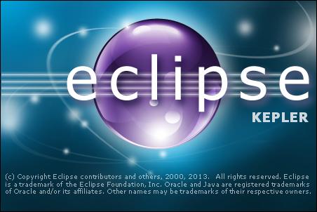 Eclipse Kepler Splash Screen