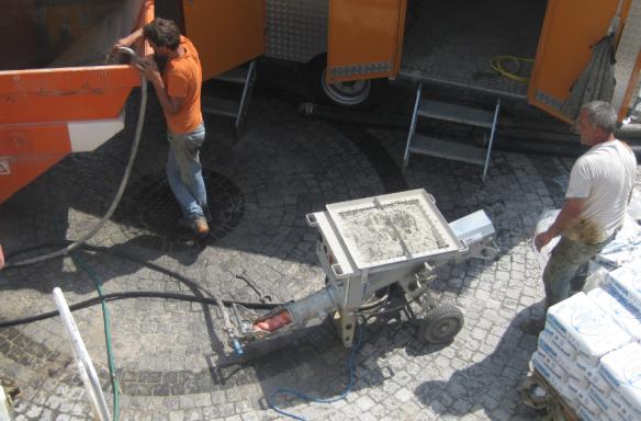 Filling Mortar