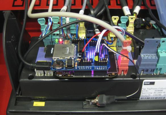 FRDM-KL25Z with Arduino Data Logger Shield