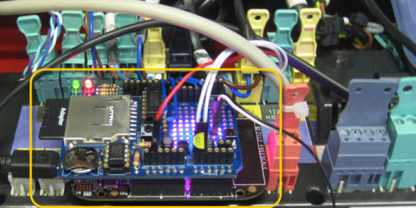 FRDM-KL25Z with Arduino Data Logger Shield